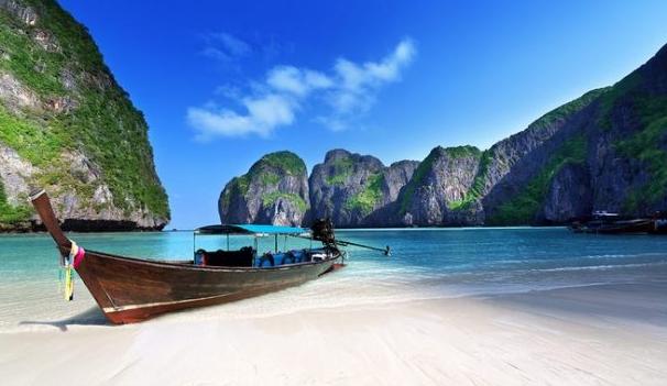apakah nama pantai yang menjadi objek wisata di Thailand